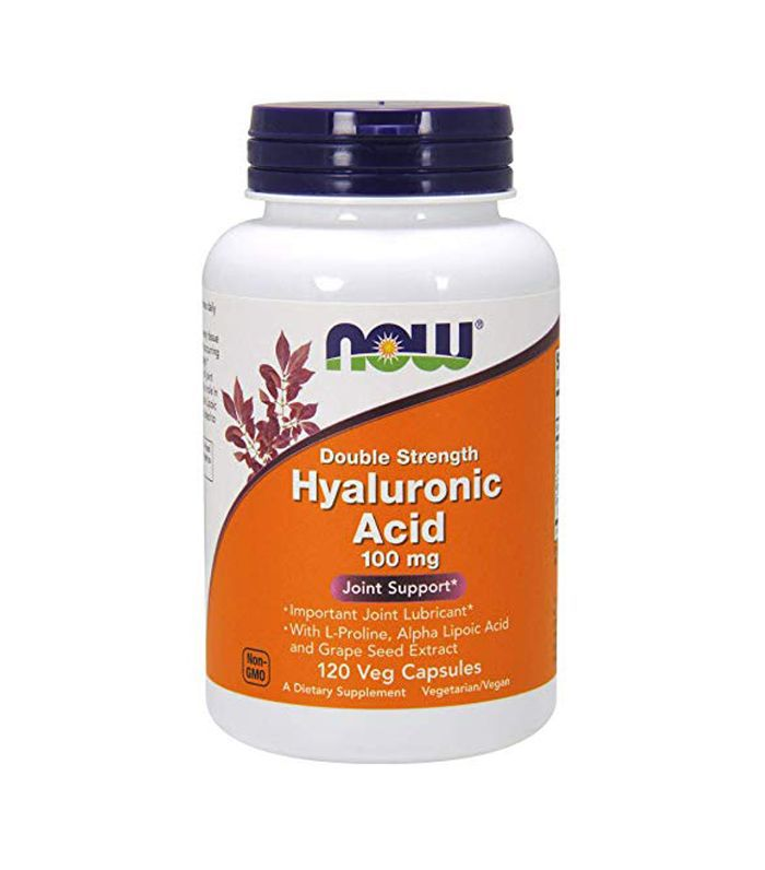 Now Foods Hyaluronic Acid 100mg, 120 Capsules Hyaluronic Acid Supplements