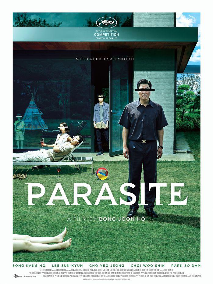 Parasite movie poster.