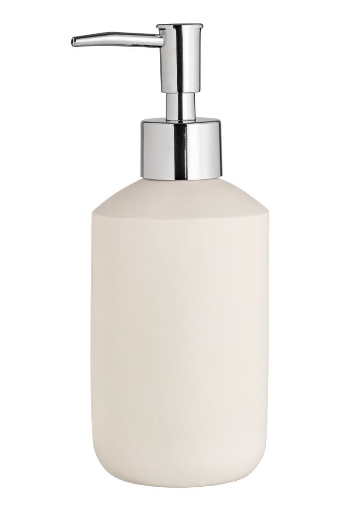 Faux Stone Soap Dispenser