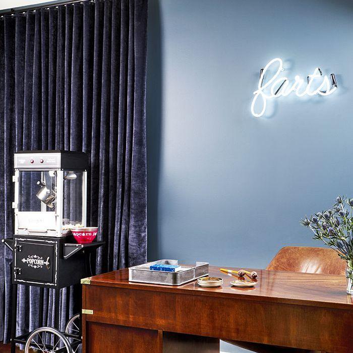Brooklyn Decker's home office