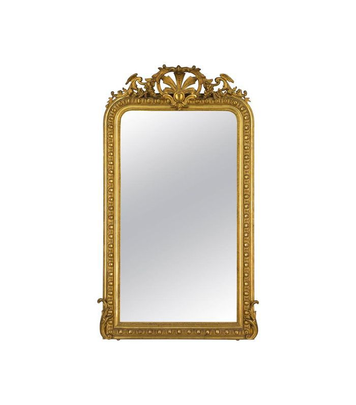Vintage 19th Century Louis-Philippe Gilded Mirror