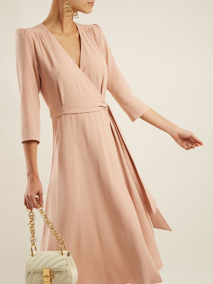 Glenda cady wrap dress