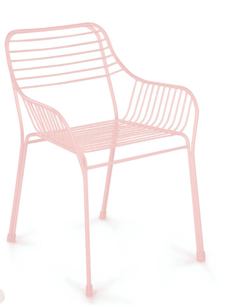 Caya verbena pink dining chair