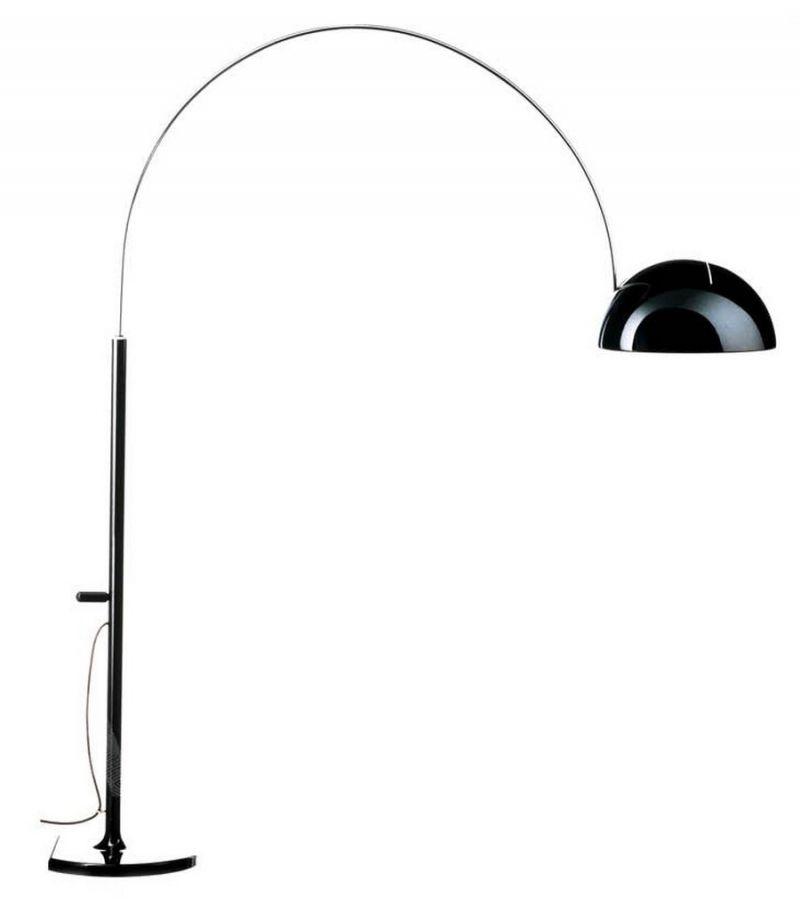 Oluce Coupe Arch Floor Lamp