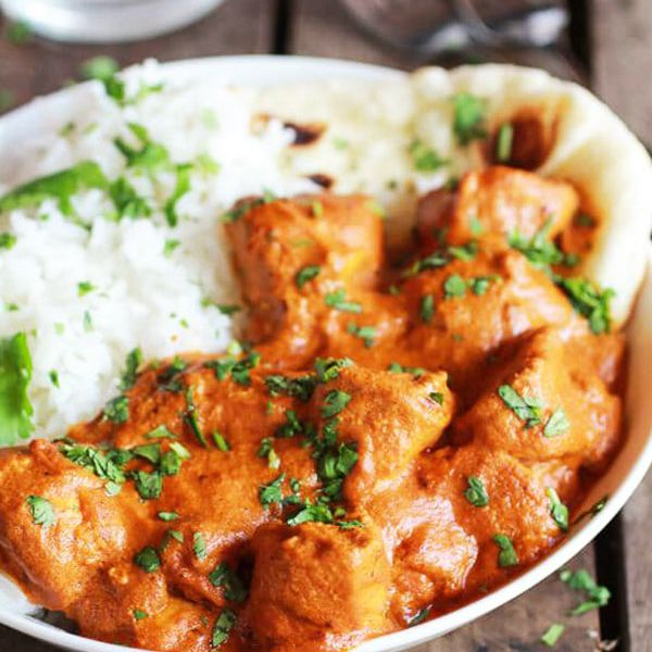 butter chicken - healthy crockpot chicken recipes