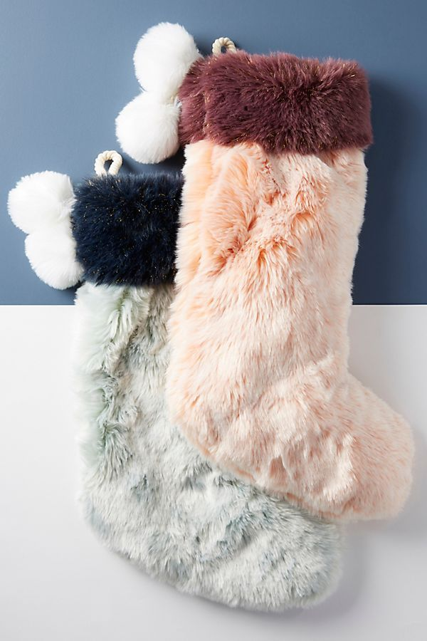 Faux Fur Stocking