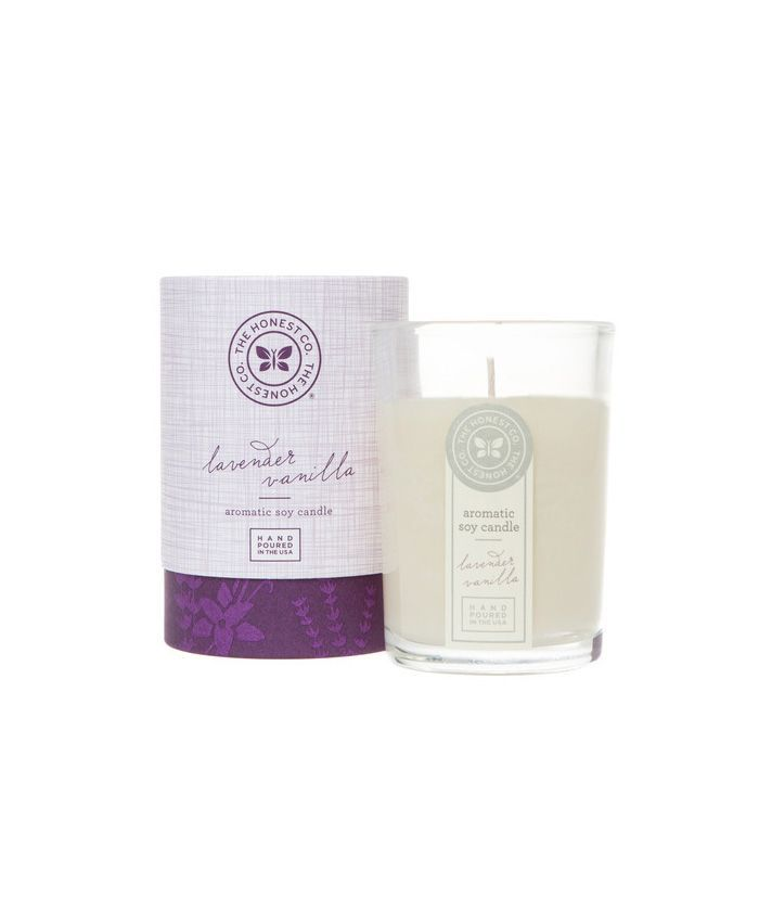 The Honest Company Lavender Vanilla Aromatic Soy Candle