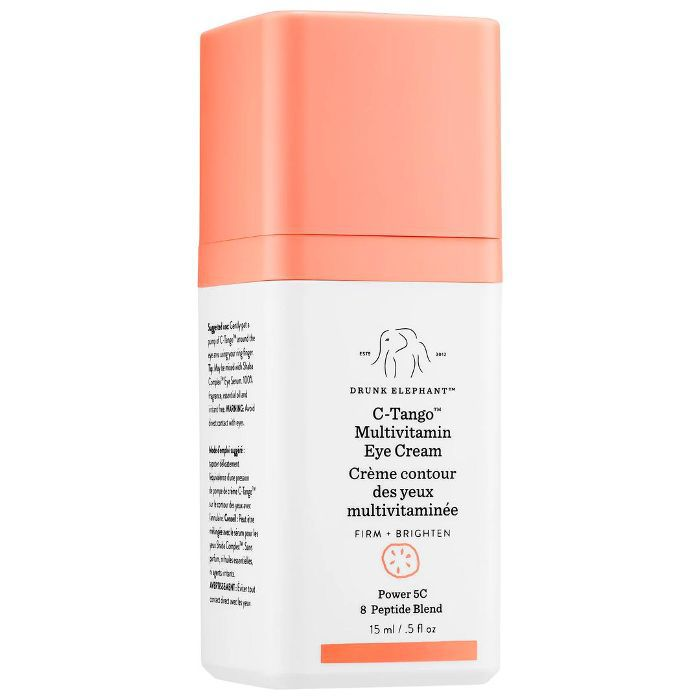 Drunk Elephant C-Tango Multivitamin Eye Cream Dermatologist-Recommended Eye Creams