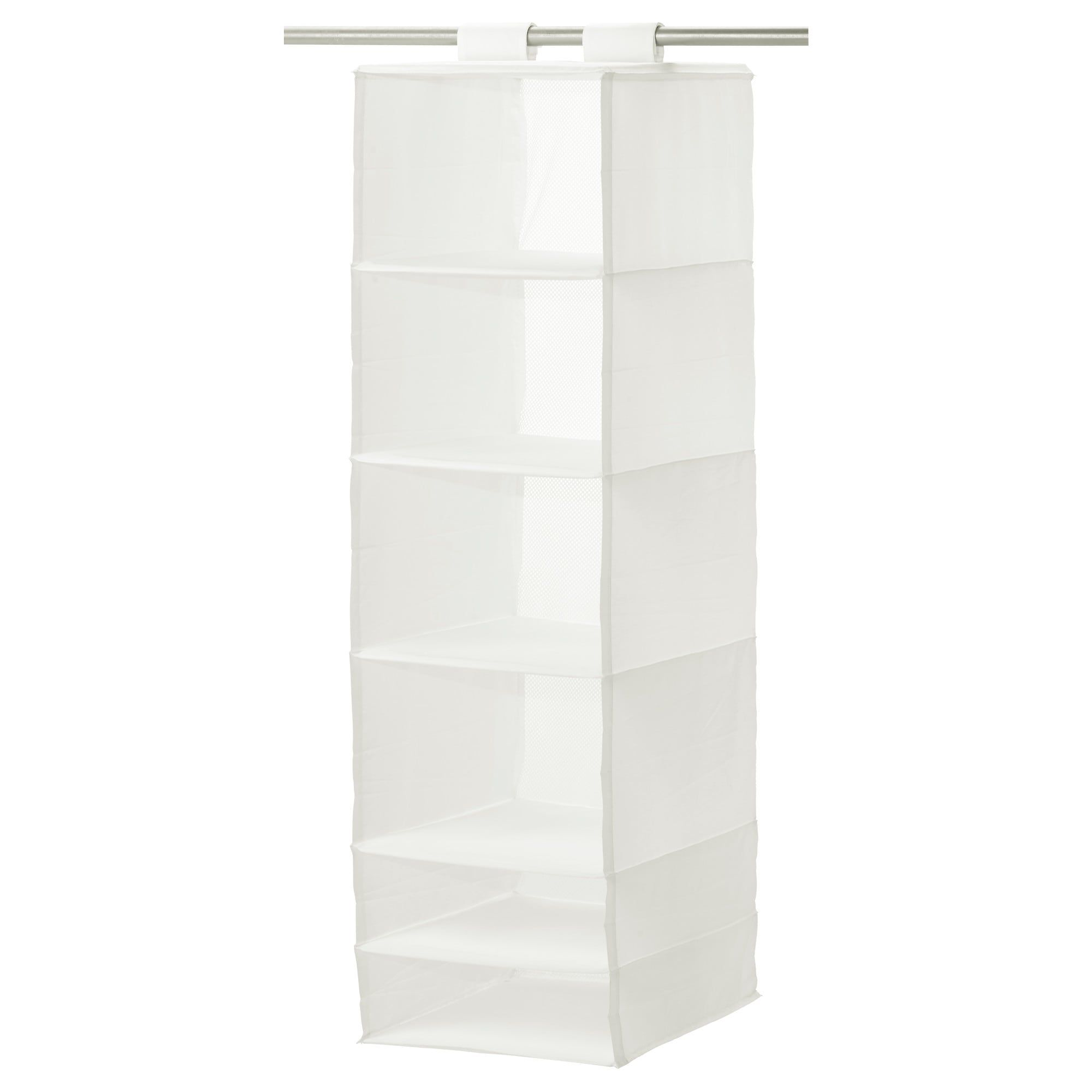 Skubb Hanging Organizer—IKEA bedroom storage