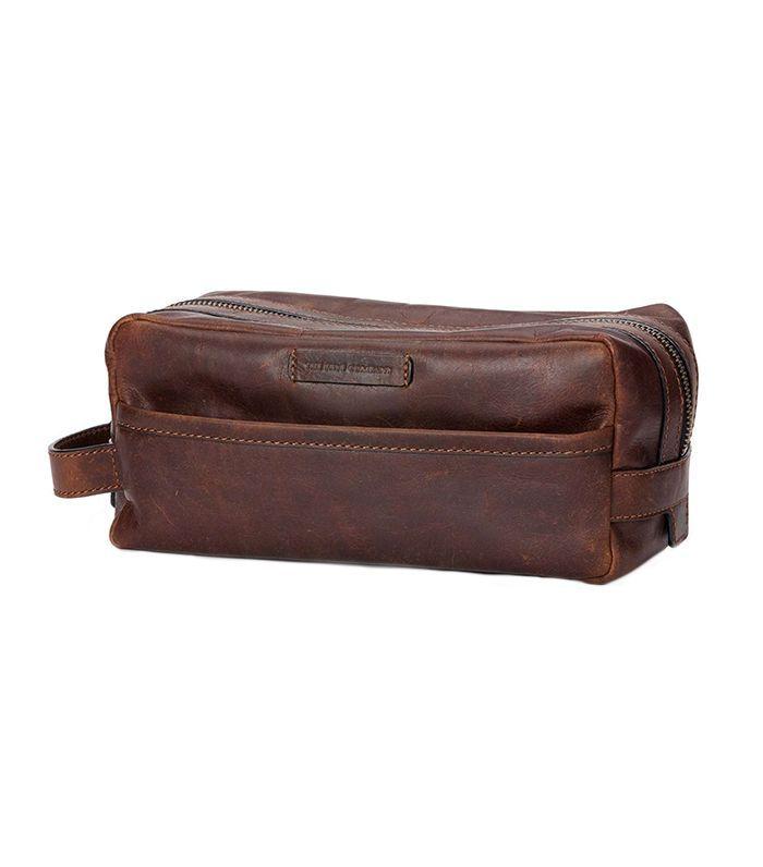 'Logan' Leather Vacation Kit
