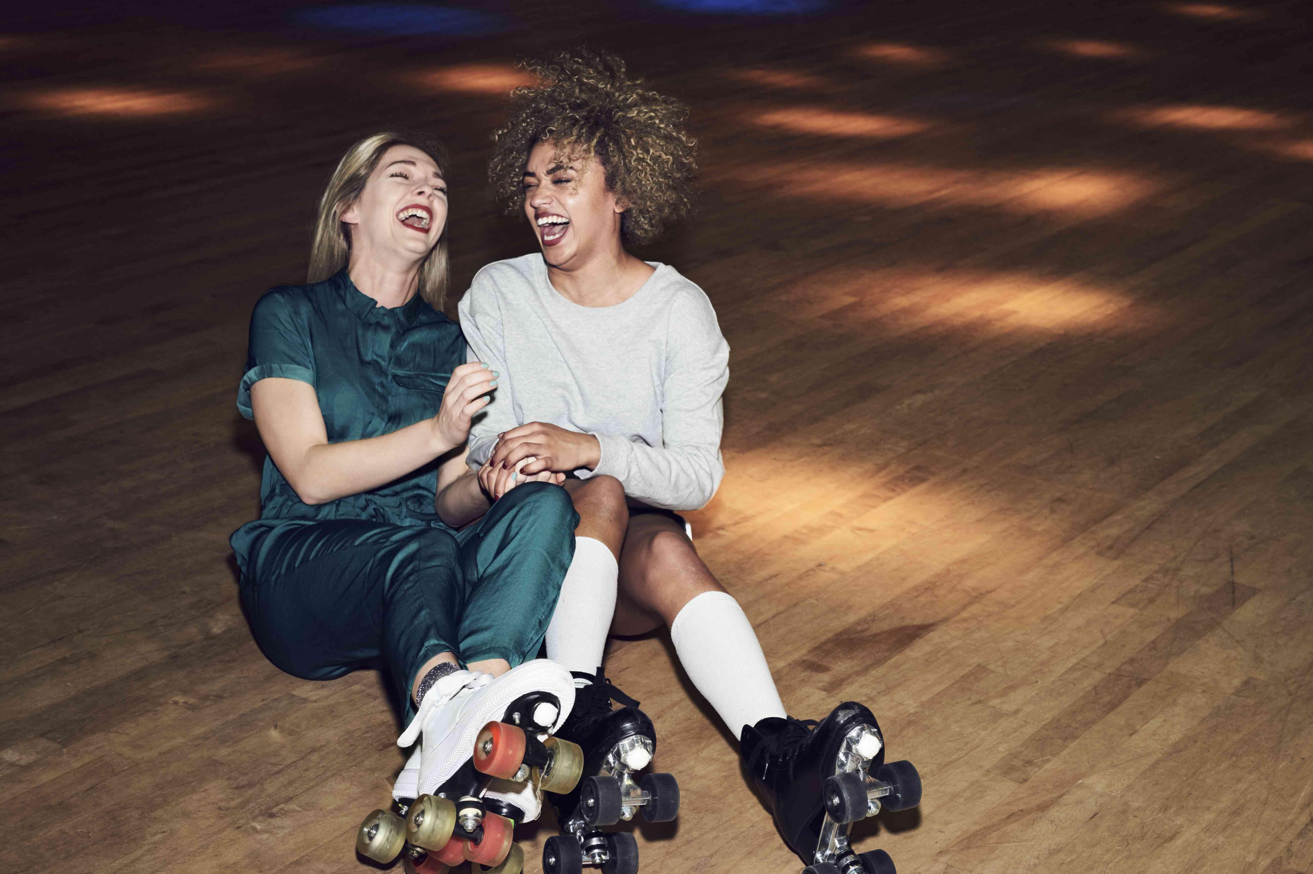 roller skating friends