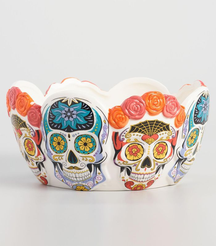 Los Muertos Ceramic Candy Bowl by World Market
