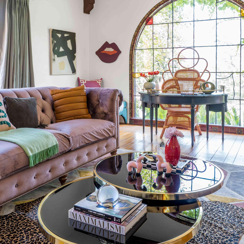 Mauve couch