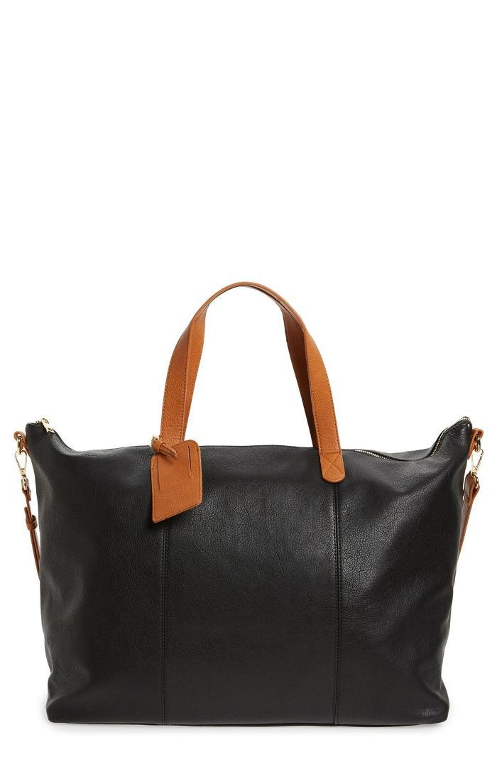 Candice Oversize Travel Tote - Black things not to buy on black friday