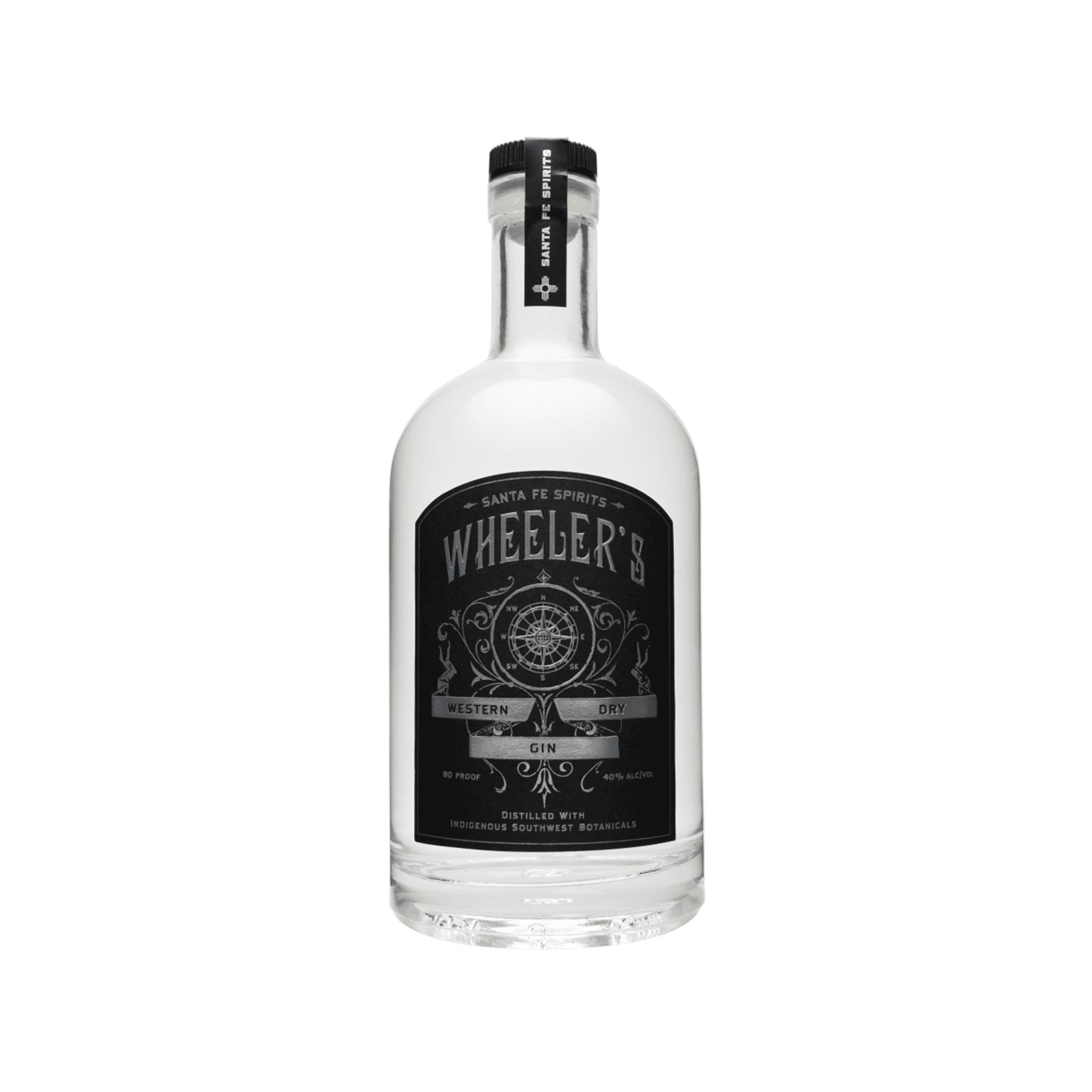 Bottle of Santa Fe Spirits's Wheeler's Gin