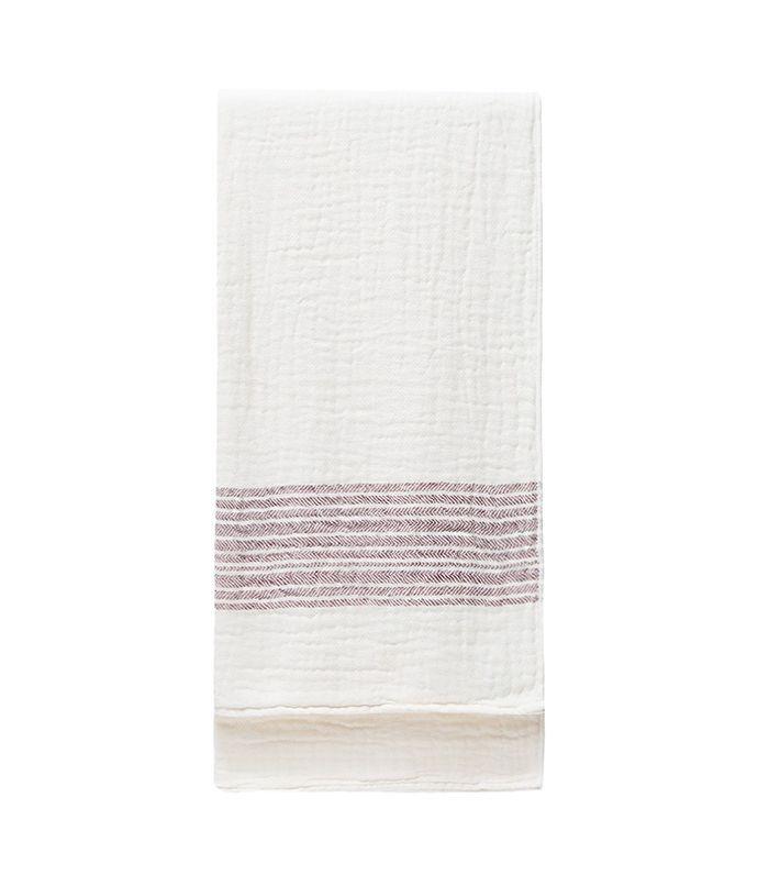 Flax Line Bath Towel