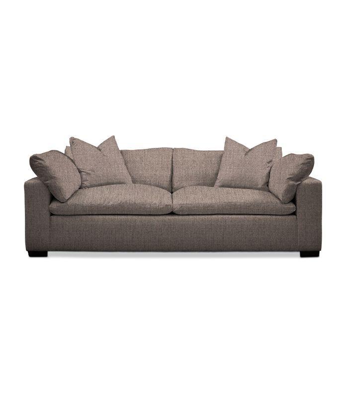 American Signature Furniture Plush Sofa (comes in 40 fabric color choices)