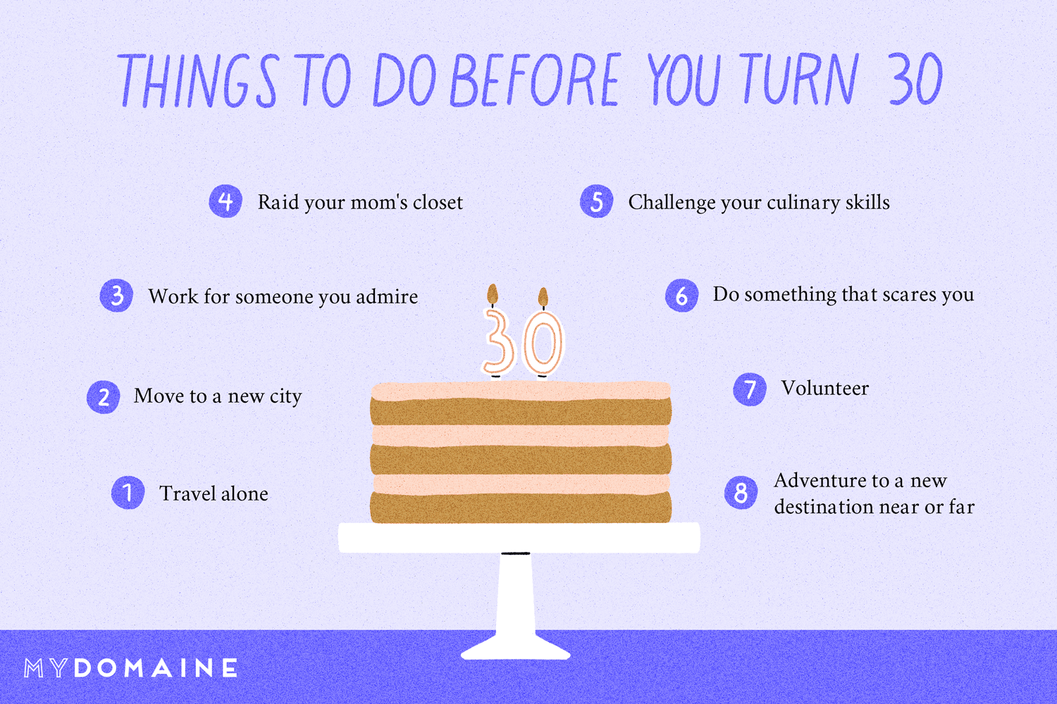 20 Things To Do Before You Turn 30