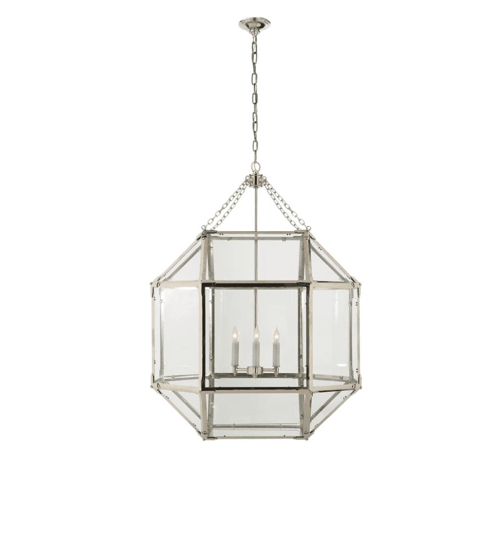 Honey + Fitz Caged Lantern Pendant LG