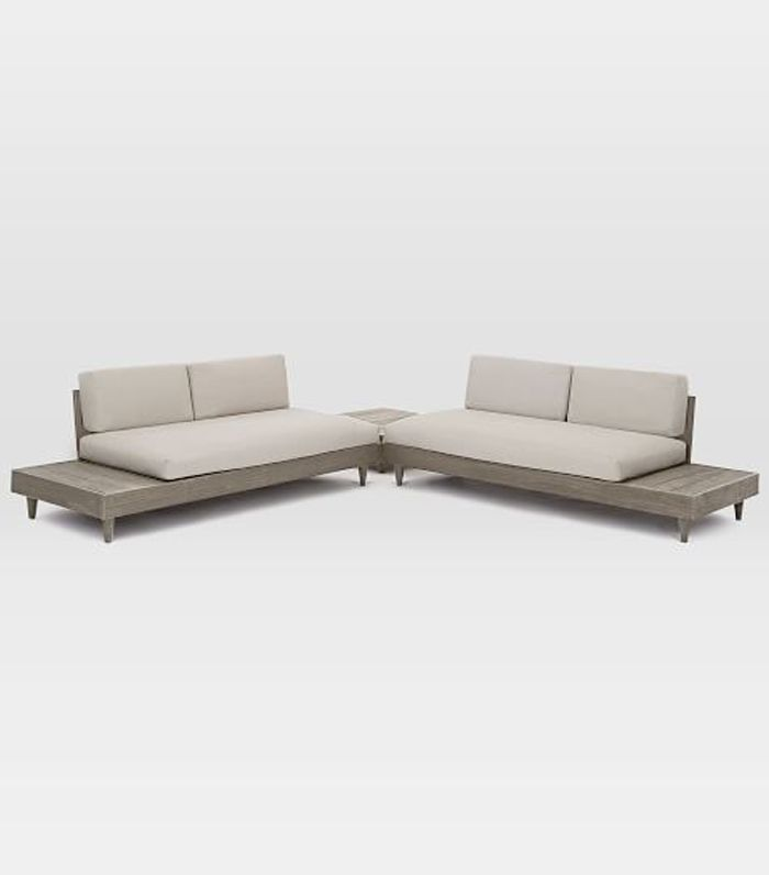 Portside Low 3 Piece Sectional