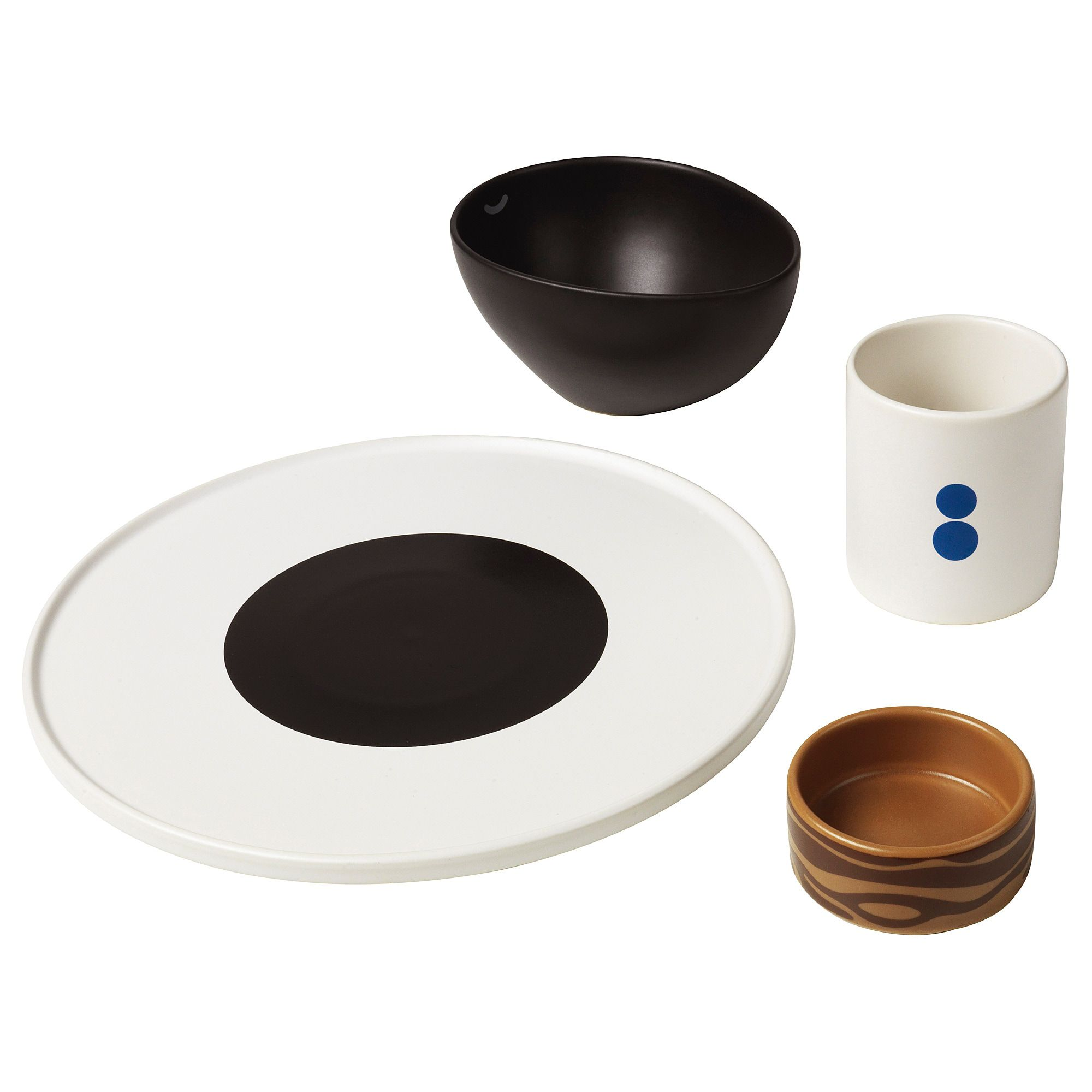 Förnyad 4-Piece Dinnerware Set