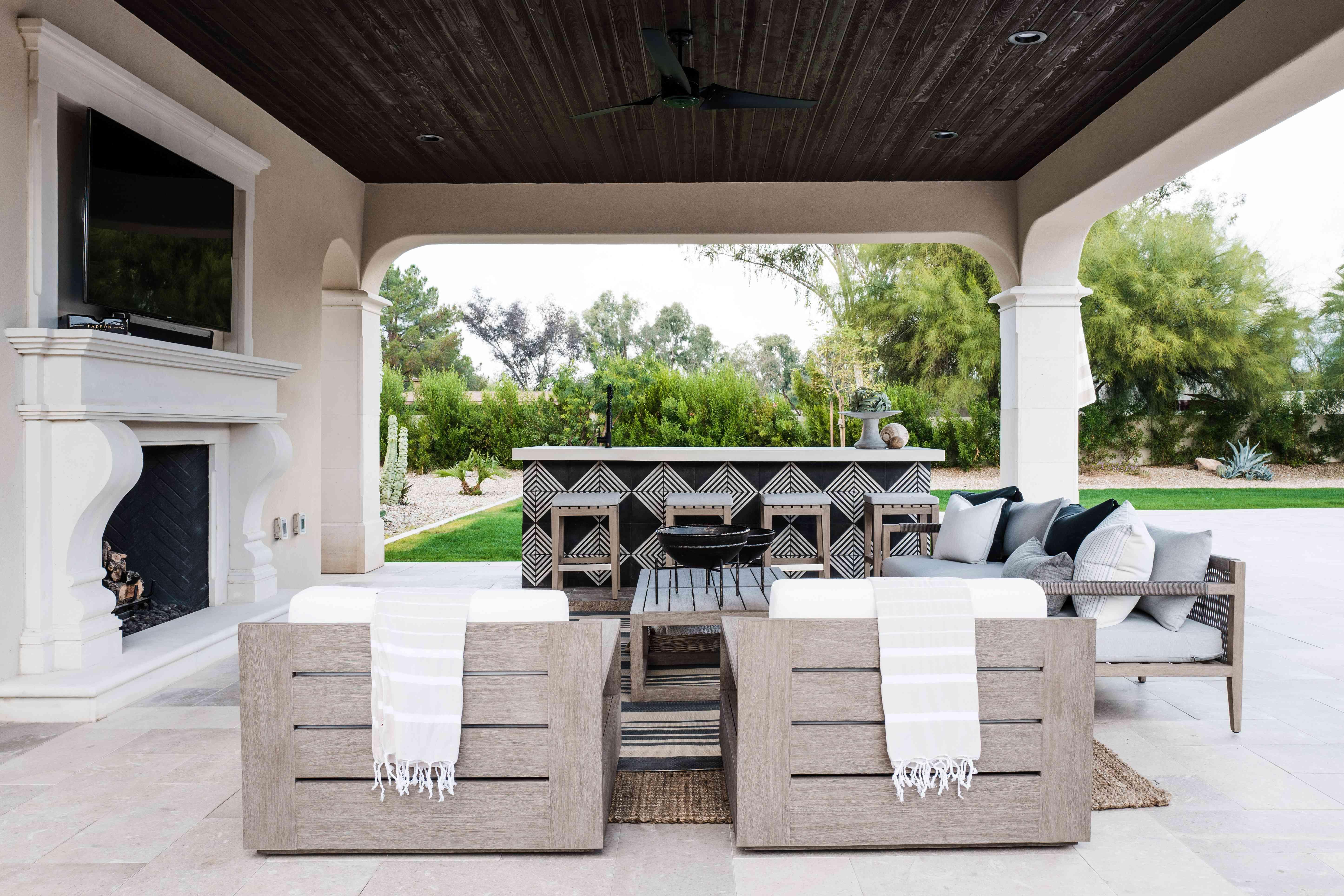 arizona home tour - outdoor space