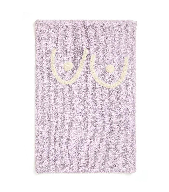 Cold Picnic Boob Bath Mat in Lilac