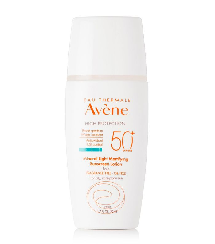 Spf50 Mineral Light Mattifying Sunscreen Lotion