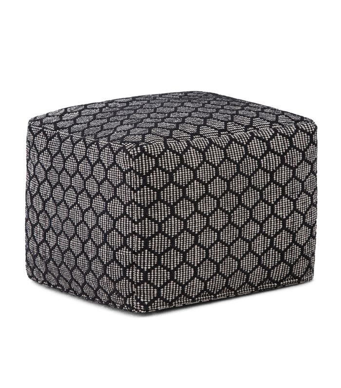 Simpli Home Simpson Square Pouf Best Home Depot Paint Colors