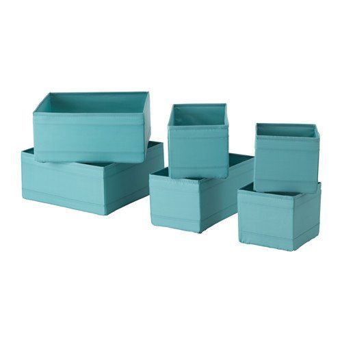 IKEA Skubb Box, Set of 6