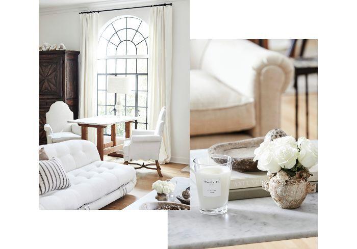 neutral living room—Nate Berkus and Jeremiah Brent