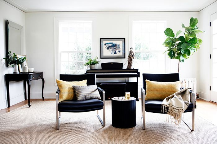 living room of renovated Seattle home