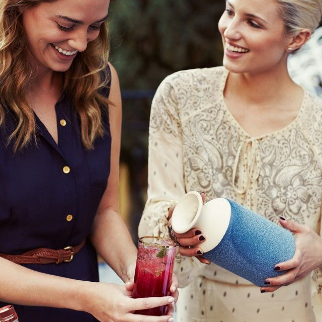 Diana Agron's backyard dinner party