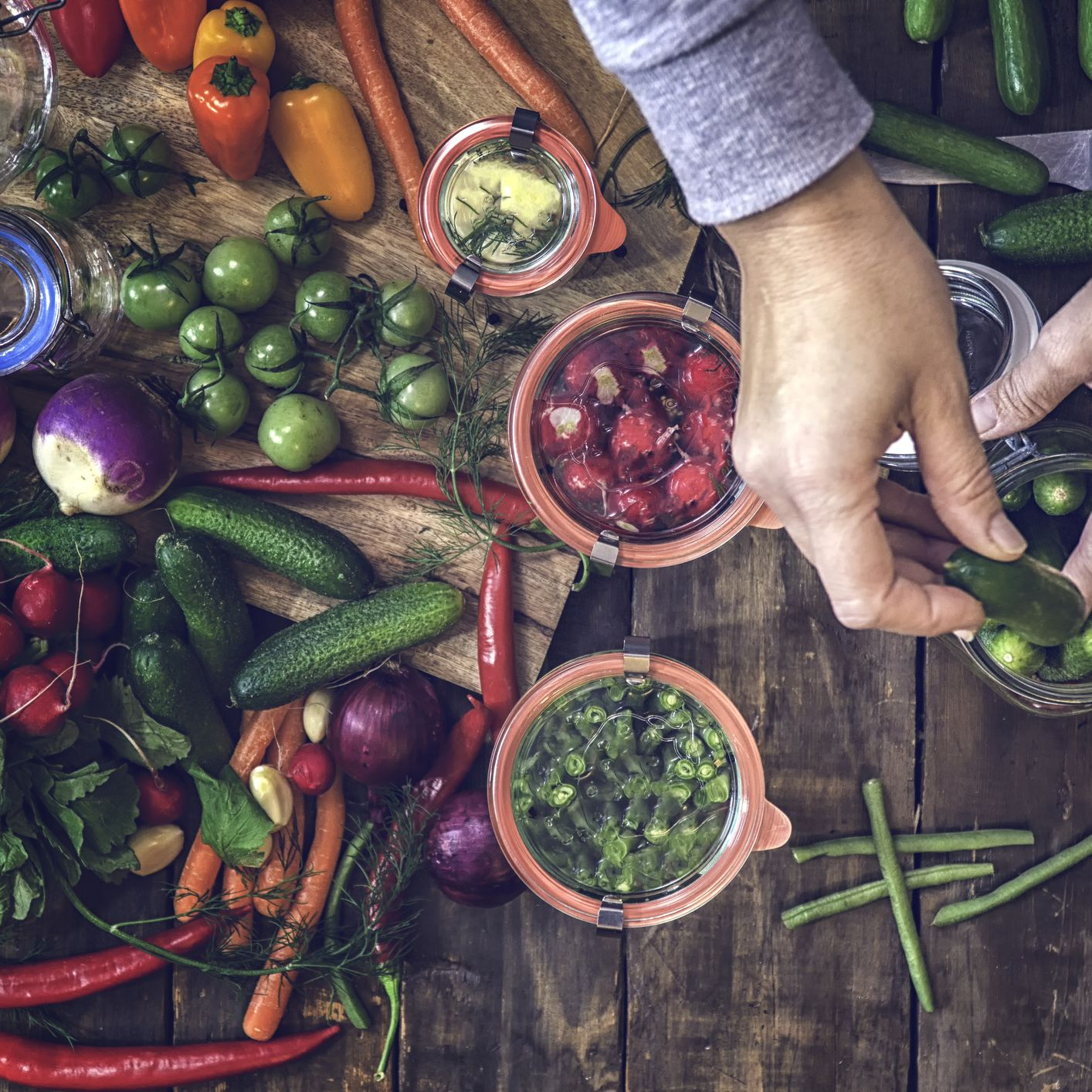 How to Pickle Vegetables at Home