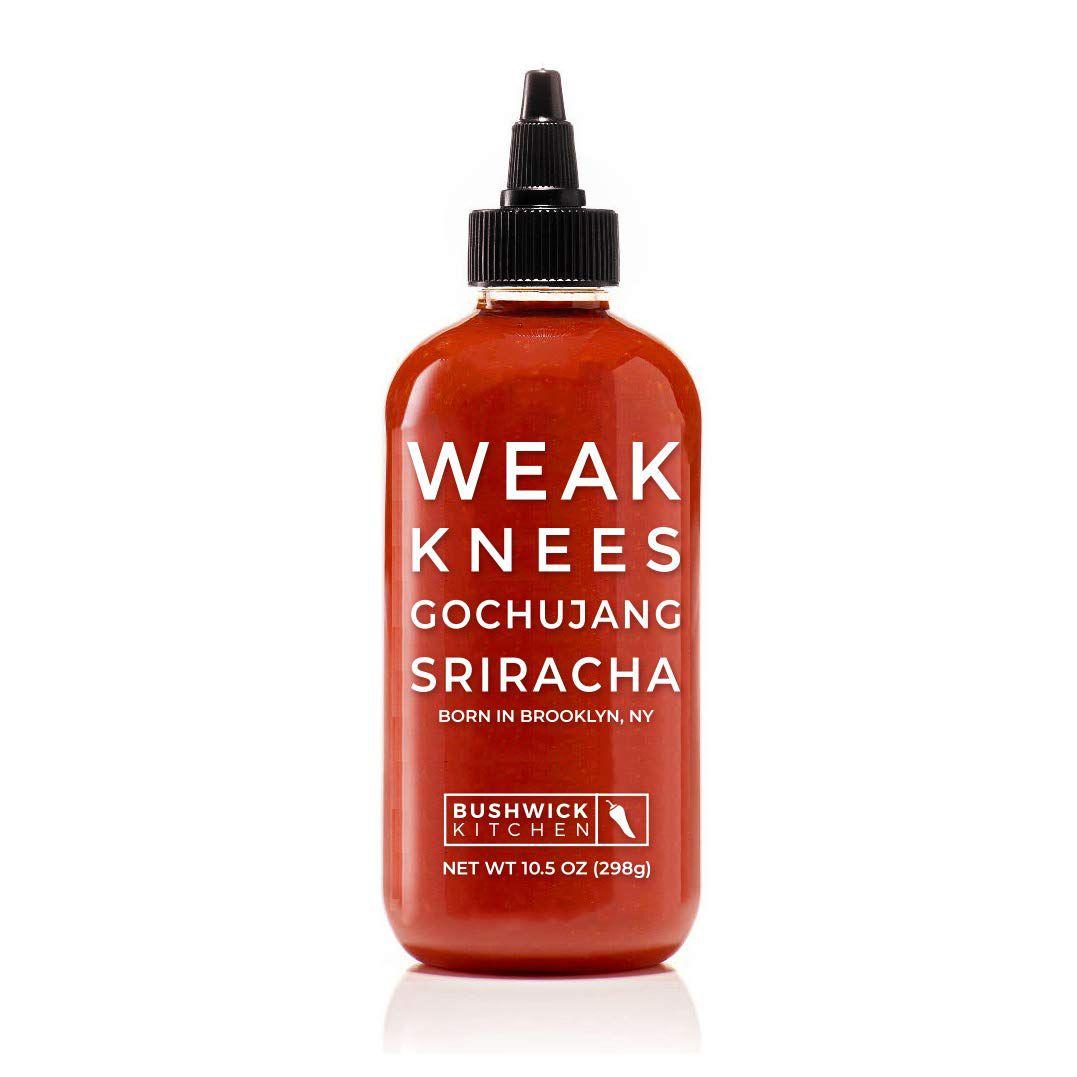 Bushwick Kitchen Weak Knees Gochujang Sriracha Hot Sauce