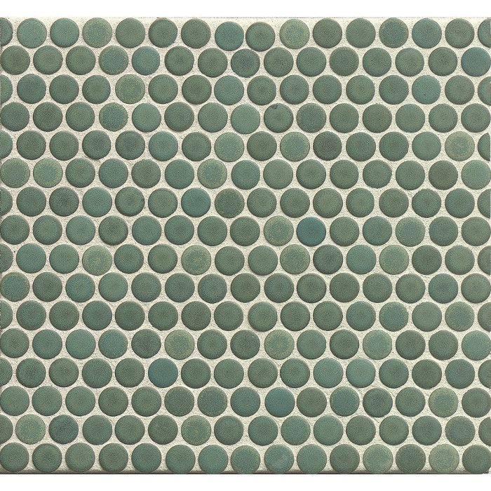Bedrosians Penny Rounds Mosaic Matte Porcelain Tiles