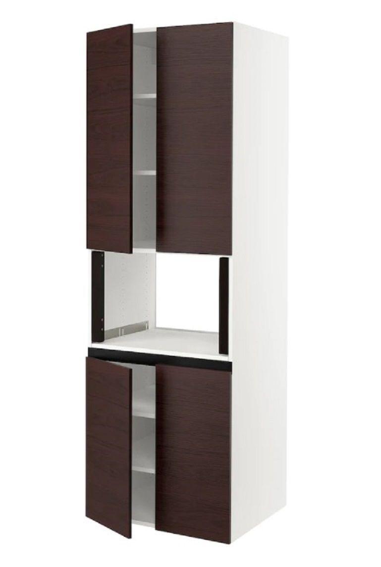 chicest ikea kitchen cabinets
