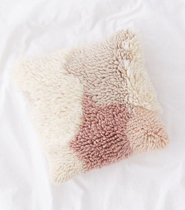 Urban Outfitters Lola Shag Throw Pillow