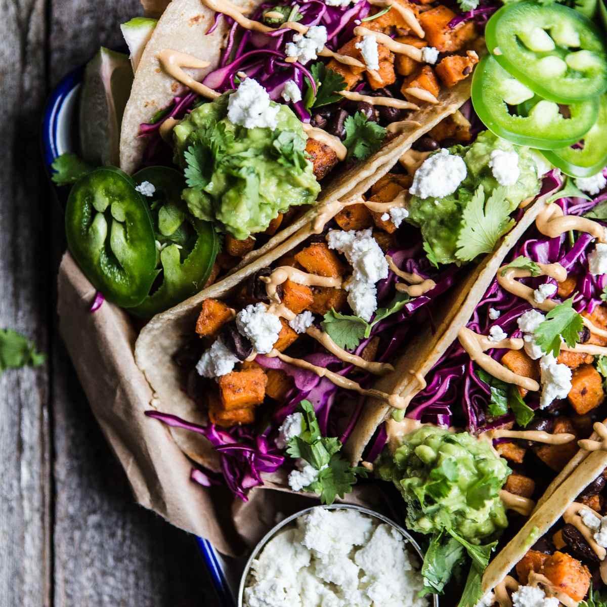 Tacos de batata