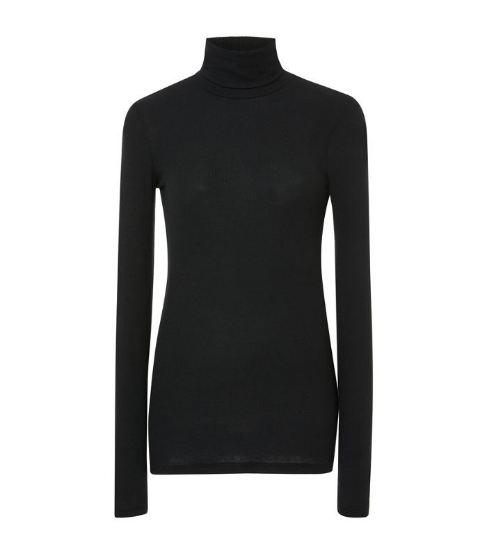 Micromodal Rib Turtleneck
