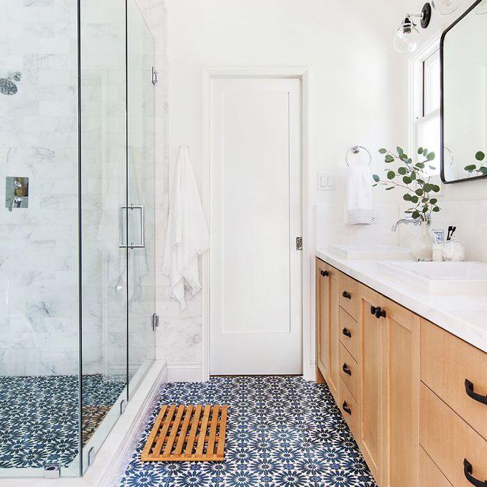 master bathroom—modern design