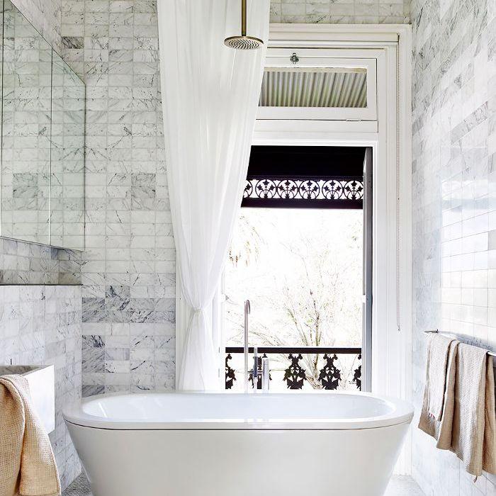 Bathroom Ideas — Marble Tiles