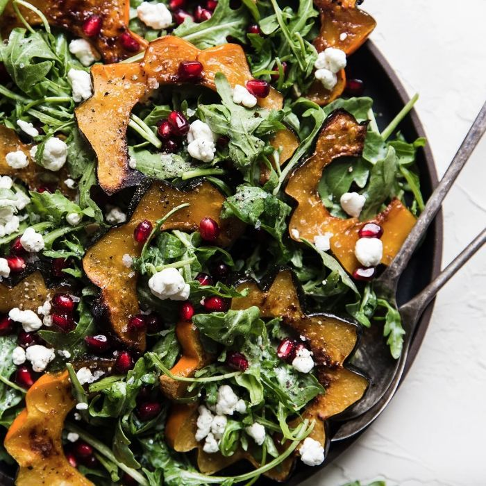 The Hearty Roasted Veggie Salad I'm Making on Repeat This Winter