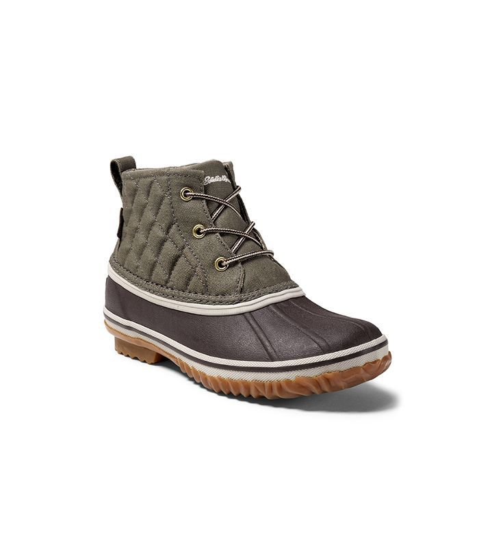 Eddie Bauer Hunt Pac Mid Boot in Fabric