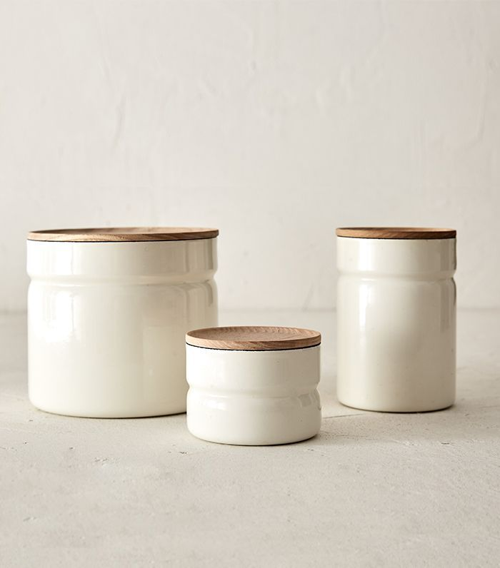 Joinery Enamel Canisters