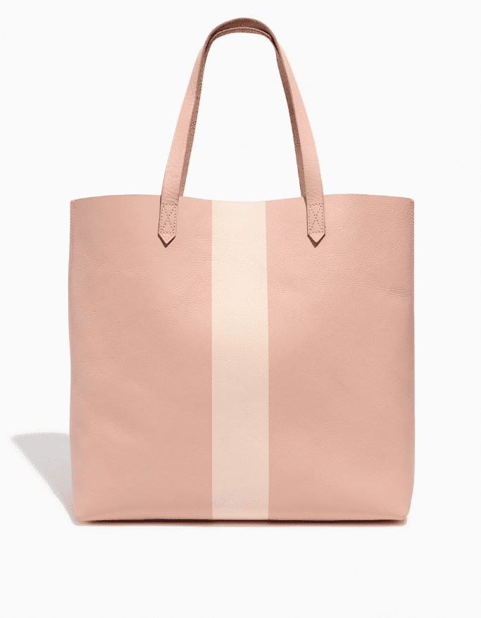 Madewell The Paintstripe Transport Tote