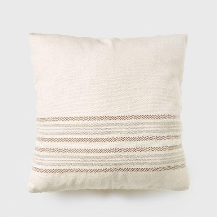 Jenni Kayne Alpaca Stripe Square Pillow