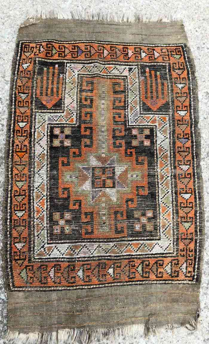 eBay Antique Turkish Konya Tribal Prayer Rug