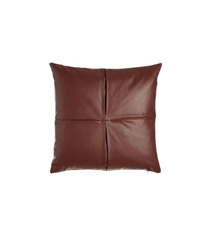 Faux-Leather Pillow, 26