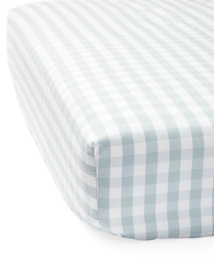 Gingham Crib Sheet